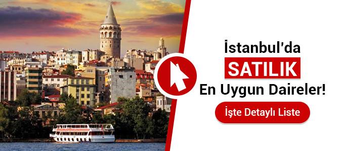 istanbul satılık daire