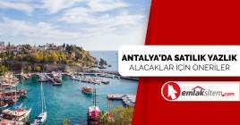 Antalya'da Satılık Yazlık Alacak İçin Öneriler