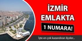 İzmir'in hangi ilçesinde ne kadar ev satıldı?