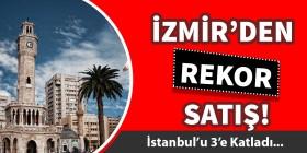 İzmir konutta yükselişe geçti